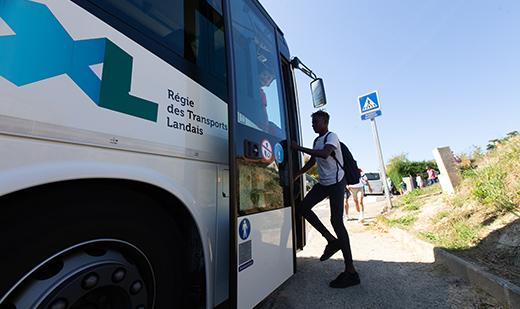 Transports scolaires gratuit dans le département des Landes