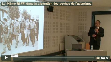 34ème RI-FFI dans la Libération des poches de l'Atlantique
