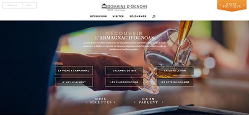 Site Internet d'Ognoas