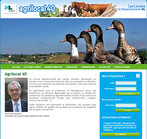 Site Internet Agrilocal