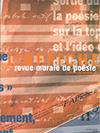 """""""L'Affiche, revue murale de poésie"""""""
