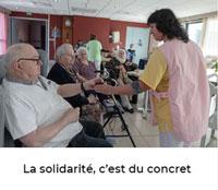 Article Xlandes-info - La solidarité, c&aposest du concret