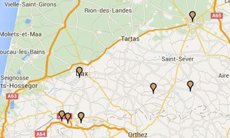 Cartographie Le Temps du Bâti