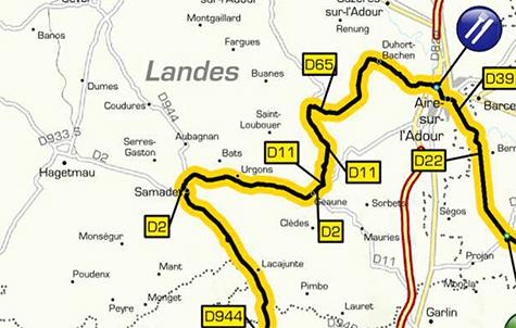 Tour de France 2018 dans les Landes