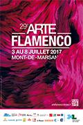 Affiche festival Arte Flamenco 2017