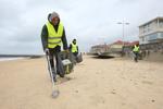 Nettoyage manuel des plages - Tarnos