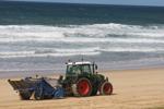 Nettoyage mécanique des plages - Hossegor