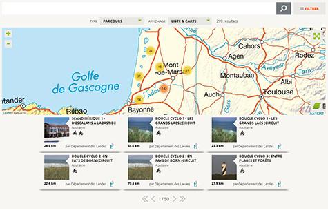 Site rando.landes.fr