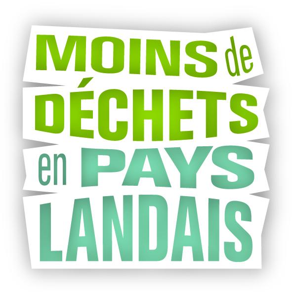 Logo moins de déchets en pays landais