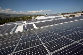 Toiture panneaux photovoltaïques