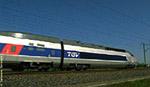 TGV dans les Landes