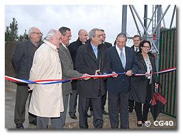 Inauguration du pylône d'Argelouse