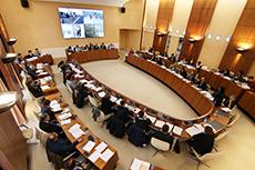 L'Assemblée départementale en session budgétaire
