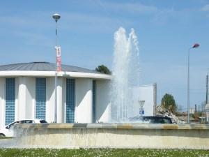 Fontaine de la Gare à Dax