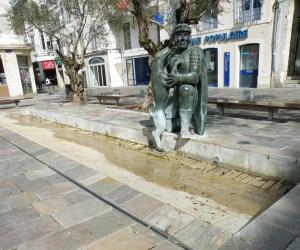 Fontaine du Légionnaire à Dax
