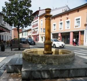 Fontaine des Trois Pigeons à Dax