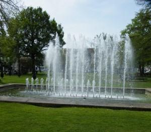 Fontaine du Rideau d'eau à Dax