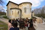 Accueil de classe, Abbaye d Arthous © S.Zambon | Dpt40