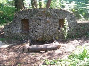 Fontaine Notre-Dame du Dos à Mimizan