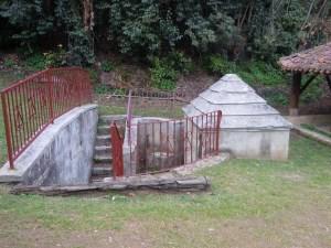 Fontaine du Théâtre de verdure à Villeneuve de Marsan