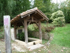 Fontaine Saint Leu à Duhort-Bachen