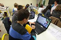 environnement éducatif numérique Landes
