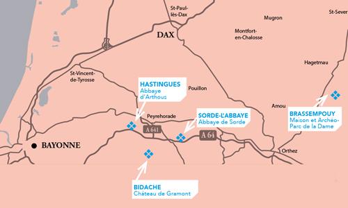 Pass Musées cartographie