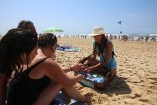Campagne de sensibilisation nettoyage du littoral